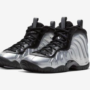 NEW Nike Air Little Posite Foamposite One Chrome